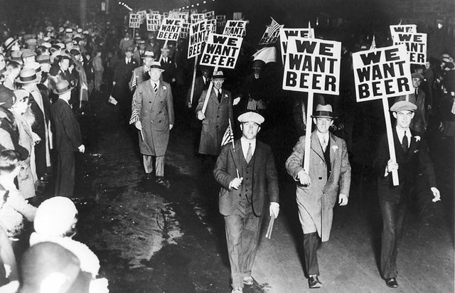 scene from Ken Burns' Prohibition
